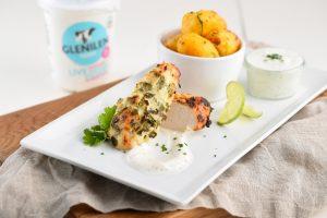 Glenilen Farm Garlic and Yoghurt Marinated Chicken