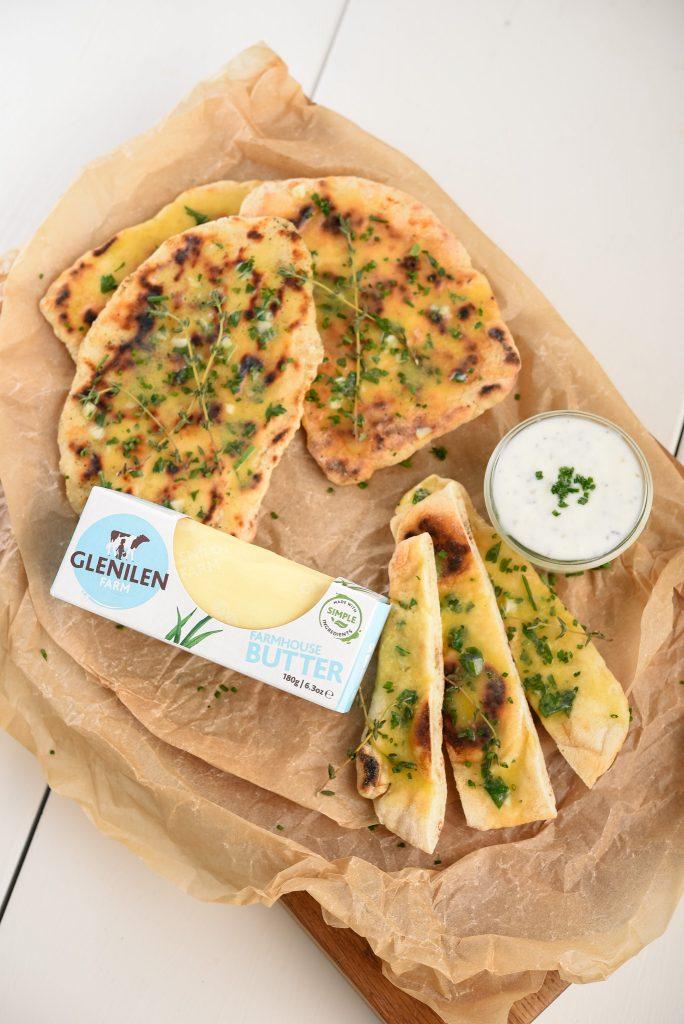 Glenilen Farm Easy Flatbread Recipe