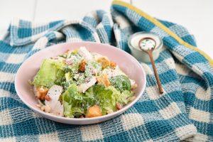 Glenilen Farm Caesar Salad with Yoghurt Dressing