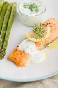 Glenilen Farm Salmon and Dill Sauce Recipe